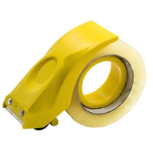 - PROSUN Easy-Mount 2 Inch Tape Gun Dispenser Packing Packaging Sealing Cutter Yellow Handheld Warehouse Tools