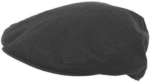 (Summer Cotton Ivy Scally Driving Hat Newsboy Golf Cap (Extra Large, Black))
