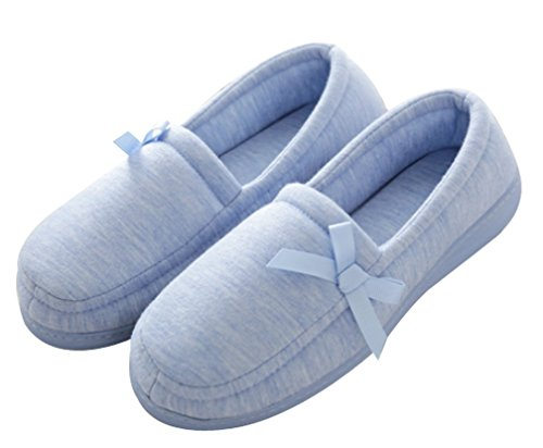 Pantofole Da Donna Cattior Cotone Casa Pantofole Interne Pantofole Da Donna Blu