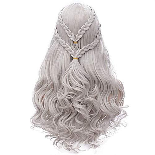 Mersi Khaleesi Wig Daenerys Targaryen Cosplay Wigs