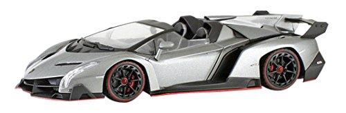Kyosho original 1/43 Lamborghini Veneno Roadster Grau / ROT Line