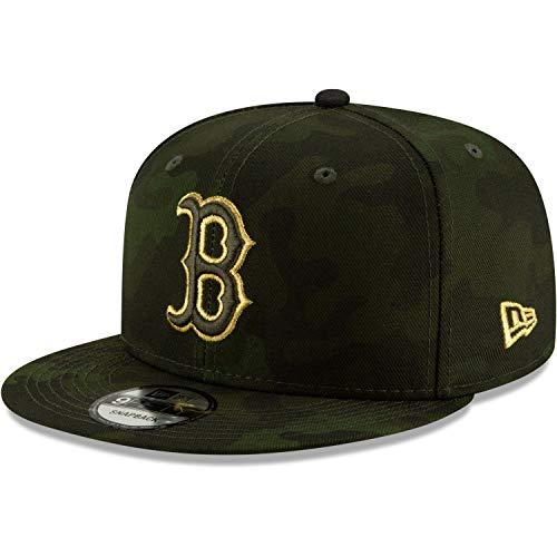 (New Era Boston Red Sox 2019 Armed Forces Day 9FIFTY Adjustable Snapback Hat )