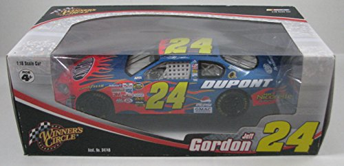 NASCAR Winners Circle 1:18 Scale #24 Jeff Gordon Race Car