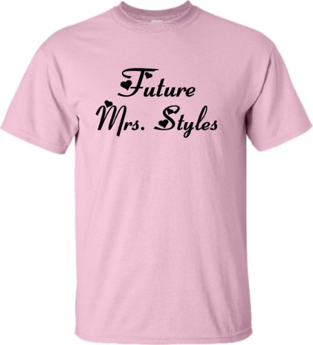 YL 14-16 Pink Youth Future Mrs. Styles T-Shirt
