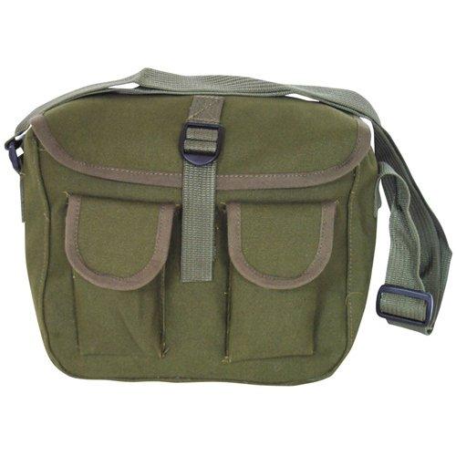 Canvas Ammo Military Shoulder Bag - Olive - Buy Online in Oman ... 81617c52d5c1