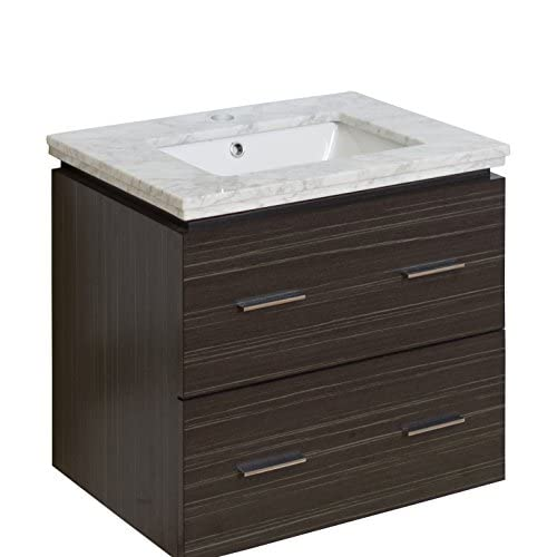 "Jade Bath JB-8362 24"" W x 18"" D Plywood-Melamine Vanity Set with Single Hole CUPC Faucet, Dawn Grey high-quality"