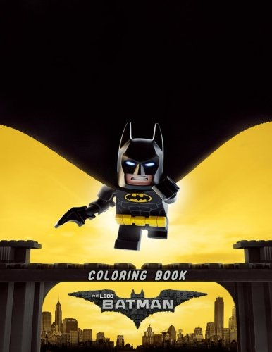 The LEGO Batman Coloring Book: Coloring Book for Kids and Adults, Activity Book, Great Starter Book for Children (Coloring Book for Adults Relaxation and for Kids Ages 4-12)]()