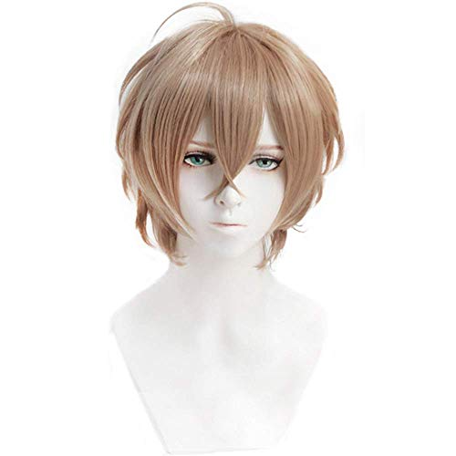 Anilnc Short Anime Cosplay Wig Game Hair Halloween Party Christmas Wig With Cap ()