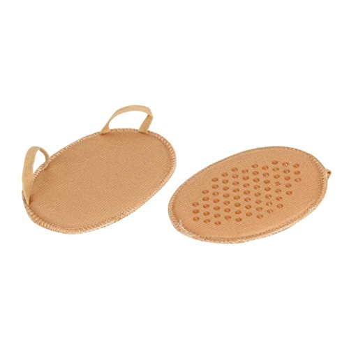 hunpta Insoles, 1Pair forefoot Invisible High Heeled Shoes Slip Resistant Half Yard Pads Khaki