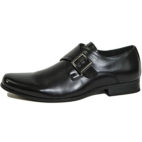 On Shoes Mens Monk Loafers Lined Uster Black Strap Swiss Alpine Slip awPq88