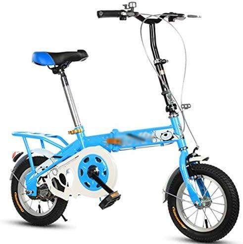 YSA 子供用自転車子供用自転車12/14/16インチの男の子と女の子のサイクリング、2〜8歳の子供に適したブルーピンクパープルレッド
