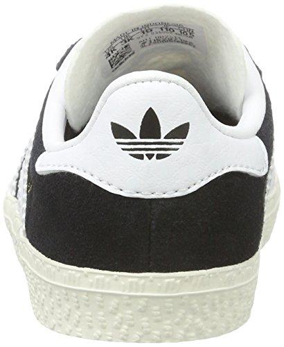 adidas Gazelle, Zapatillas Unisex Niños Negro (Core Black/ftwr White/gold Metallic)