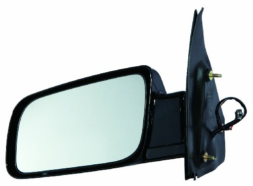 - Depo 335-5432L3EL2 Chevy Astro/GMC Safari Driver Side Gloss Non-Heated Power Mirror