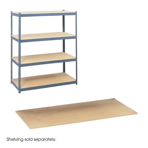 Safco Office Industrial Garage Commercial Archival Shelving Particle Board Shelves