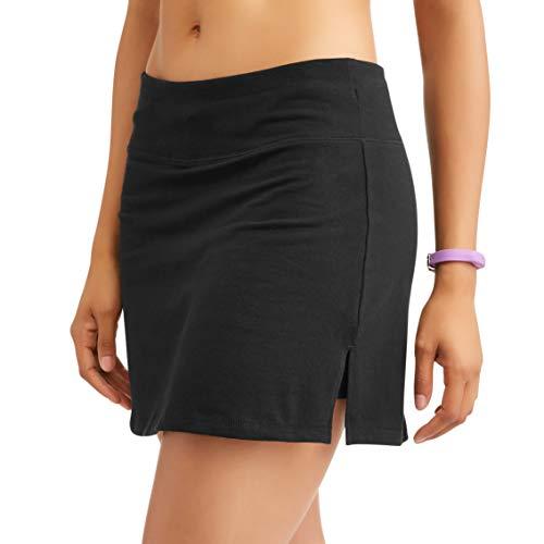 (Athletic Works Women's Basic Moisture Wicking Active Activewear Skort (Black, X-Large (16-18)))