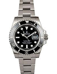Rolex Submariner Black Dial Ceramic Bezel Steel Mens Watch 116610LN