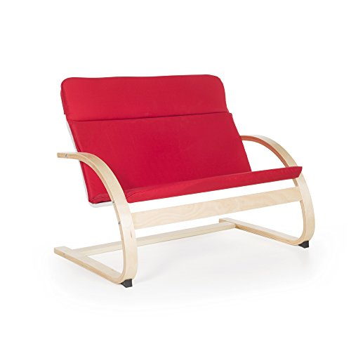 Guidecraft Nordic, Red Couch for Kids – Furniture Review