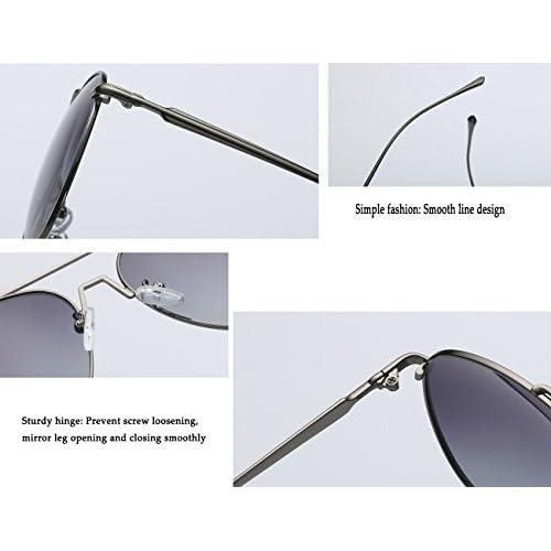 e941aacadd Gafas de sol deportivas polarizadas para hombres UV 400 Metal Moda de hombre  Wayfarer retro conducción