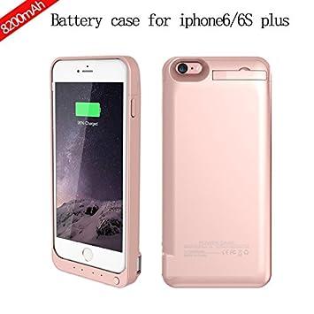 Scheam Funda batería iPhone 6 Plus/iPhone 6s Plus Case ...
