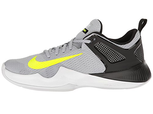 NIKE Womens Air Zoom Hyperace Shoe, Wolf Grey/Volt-Black, 11 B(M) US by NIKE