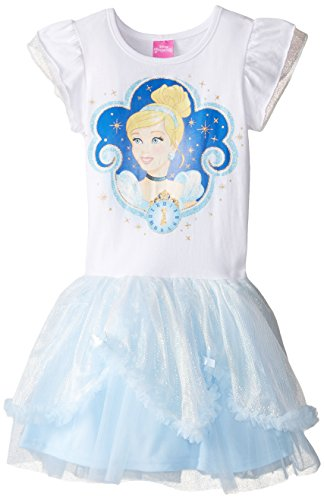 Disney Little Girls' Cinderella Tutu Dress