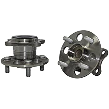 Set of 2 Rear Wheel Bearing and Hub Assembly fits 2012 BMW X1 for Left /& Right Side