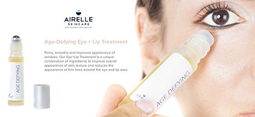 Airelle Skincare Anti-Aging Eye and Lip Serum Treatment with Hyaluronic Acid (Natural).3 fl. oz. by Airelle Skincare (Image #4)