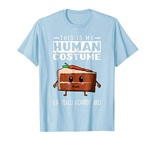 This Is My Human Costume I Am Really A Carrot Cake T Shirt ()