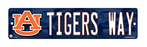 NCAA Auburn Tigers High-Res Plastic Street (Tigers Hanging Sign)