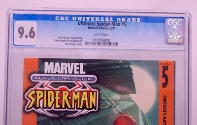 Buy ultimate spiderman 1 cgc