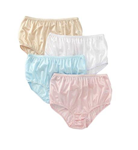 full cut nylon panties - 1