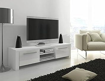 TV Stand Orlando / LED Option / TV Cabinet / TV Table: Amazon.co.uk ...