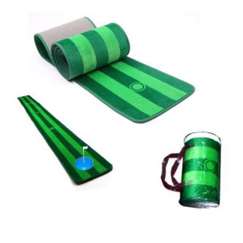 Wotefusi 1セット新しい人気スタイルシンプルフレッシュグリーン練習ゴルフパター毛布ギフト B00IKDBK2G
