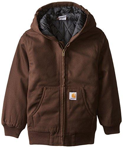 Carhartt Big Boys' Work Active Jacket, Dye, Small-7/8