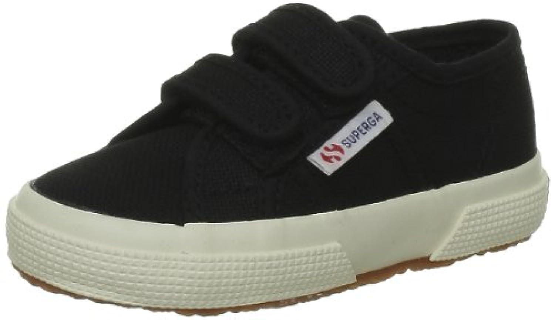 Superga 2750 Jvel Classic, Unisex Kids' Low-Top Sneakers, Blue (Sea Blue), 1 Child UK (33 EU)
