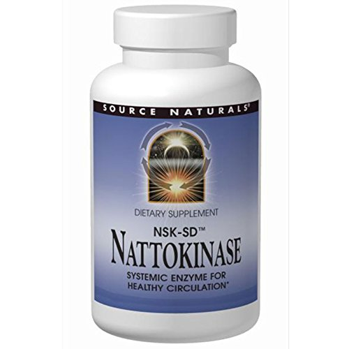 Source Naturals, Nattokinase NSK-SD, 36 mg, 90 Softgels - 3PC by Source Naturals