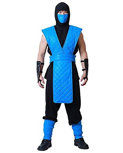 7Queen Men's Sub-Zero Cosplay Costume (men xl) ()