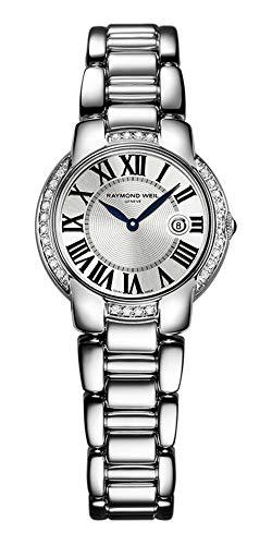 Raymond Weil Women s 5229-STS-00659 Jasmine Diamond Stainless-Steel Bracelet Watch