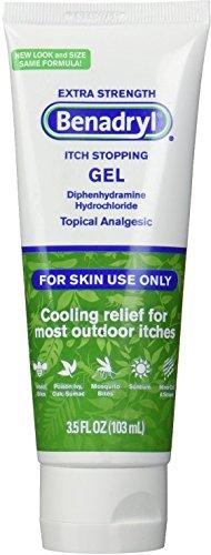 Benadryl Extra Strength Itch Stopping Gel 3.5 oz (Pack of 2)