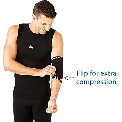 Zensah Compression Tennis Elbow Sleeve for Elbow Tendonitis, Tennis Elbow, Golfer's Elbow - Elbow Support, Elbow Brace