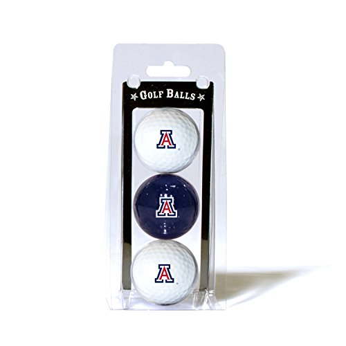 University of Arizona 3-Pack Golf Balls (University Balls 3 Golf)