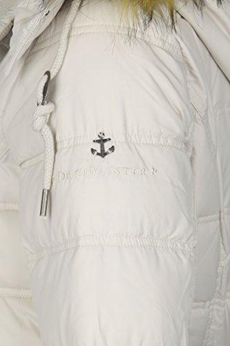 DreiMaster - Abrigo con capucha amovible 37834892 - Mujer Beige