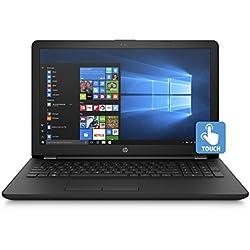 HP 15.6-Inch HD Touchscreen Laptop (Intel Quad Core Pentium N3710 1.6GHz, 4GB DDR3L-1600 Memory, 500 GB HDD, DVD Burner, HDMI, HD Webcam, Win 10)