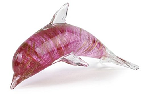 (Dynasty Gallery Rose Gold Glass Dolphin 25082)