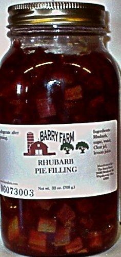 Rhubarb Pie Filling, Sugar Free, 32 fl. Oz.