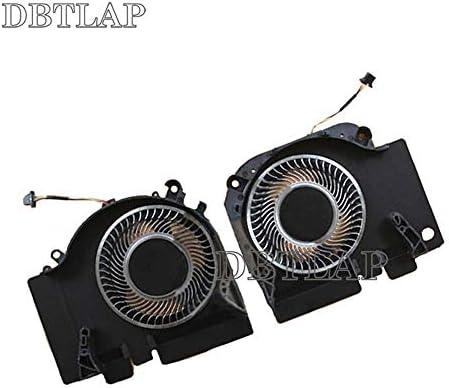 DBTLAP Original Portatile CPU + GPU Raffreddamento Ventilatore Compatibile per XiaoMi Mi 15.6 GTX1060 EG75071S1-C020-S9A EG75071S1-C010-S9A DC12V