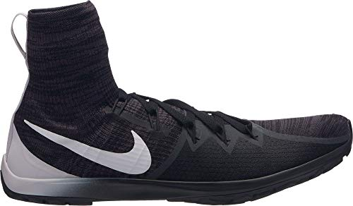 Nike Men's Zoom Victory Waffle 4 XC Track and Field Shoes (Black/White, 7.5 M US) (Zoom Victory Nike)