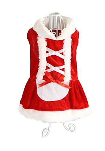 Costumes For Dogs Sydney (Freerun Dog Puppy Pet Skirt Santa Claus Clothes Dress Costume Dog Outwear Coat Apparel - Skirt, M)