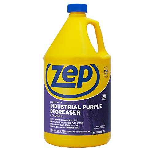 ZEP ZU0856128 Industrial Purple Cleaner and Degreaser Concentrate 128 Ounces (Purpose Industrial Degreaser)