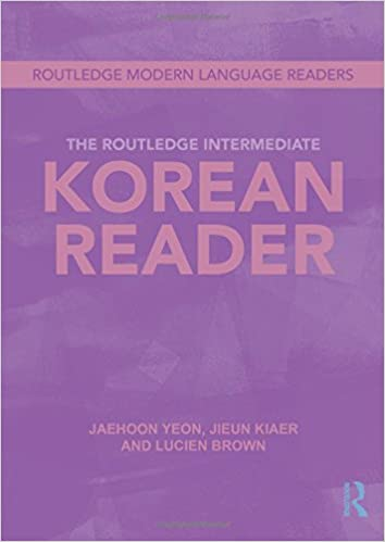 Amazon.com: The Routledge Intermediate Korean Reader (Routledge ...